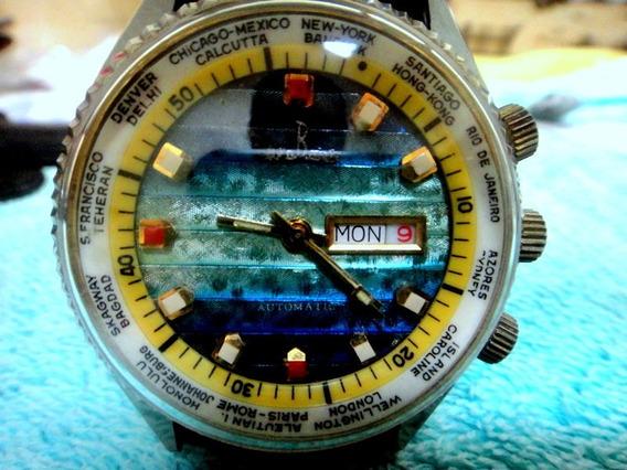 Relógio Bang Bang Hora Mundi Automático
