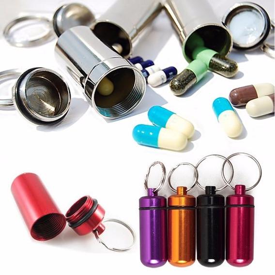 Kit Com 10 Porta Comprimidos De Remédios