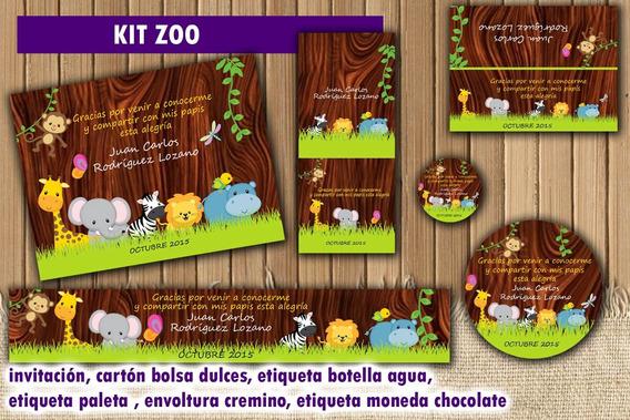 Kit Imprimible Animalitos Economico Original Recuerdo