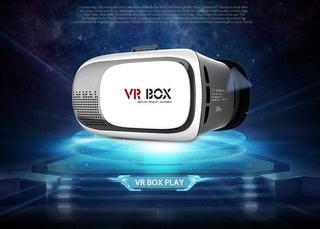 Oculos De Realidade Virtual 3d, Vr Box 2.0, Para Smartphone.
