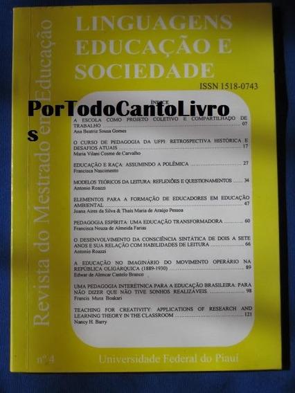 Linguagens Educação E Sociedade Mestrado Em Educação Piauí