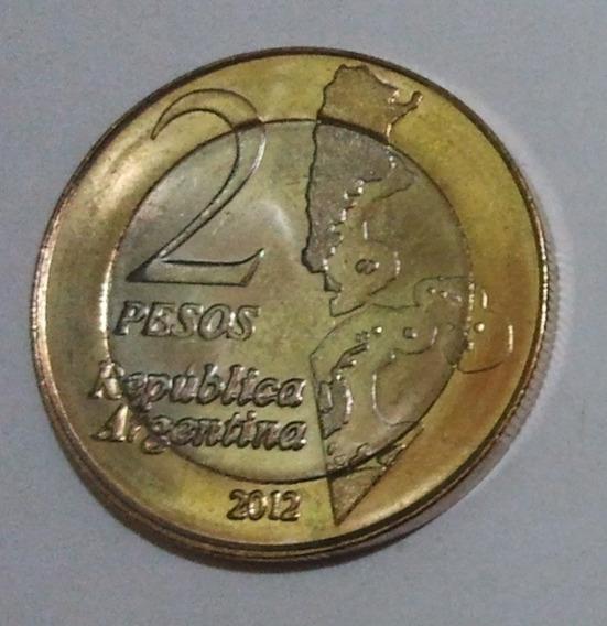 Moneda Argentina Conmemorativa Malvinas Palermo