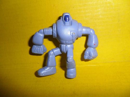 Robot Sello T C D T  Juguete Muñequito Miniatura