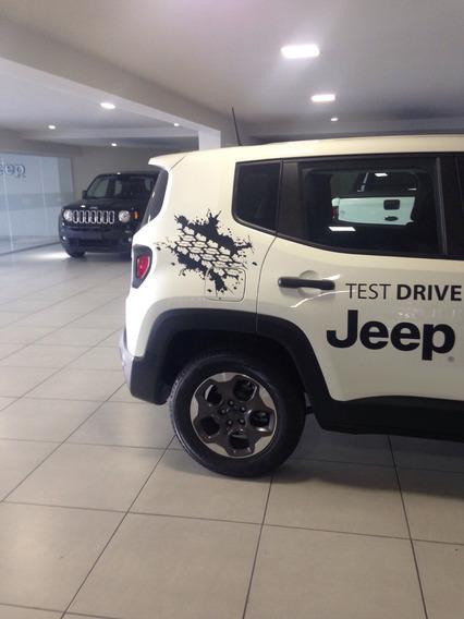 Kit Adesivo Lateral Jeep Renegade 2015 Exclusivos Jeep