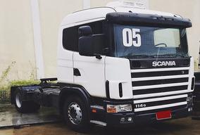 Caminhão Scania 114 4x2 330 Cv, Ano 2005