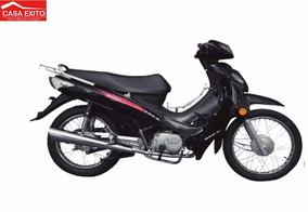 Moto Qingqi Qm110-3c Color Negra, Azul, Roja Año 2016