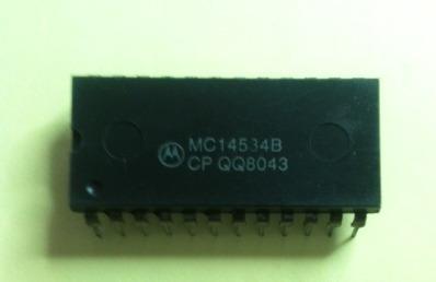 Mc14534 Contador 5 Digitos Tri State Bcd Motorola.