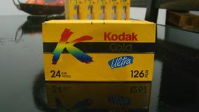 Filme Kodak 126 Lacrado Na Caixa, Sem Uso Mas Vencido