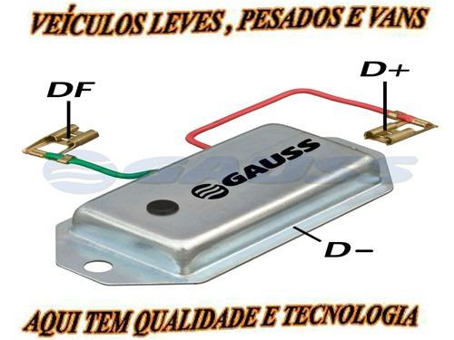 Regulador De Voltagem 14v 65a Ford Vw Agrale Gauss Ga058