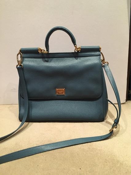 Auténtica Cartera Dolce & Gabbana Large Vittello Bag
