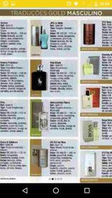 Perfumes Hinode Tradução Gold A Pronta Entrega......