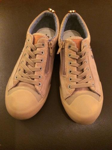 Zapatillas Beige 34/35 (buen Estado)