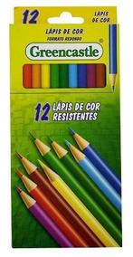 Lapis De Cor Greencastle Formato Redondo Com 12 Cores