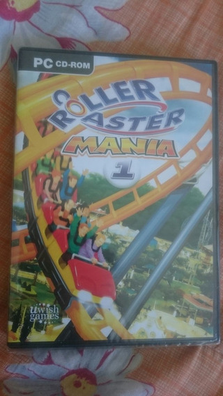 Game Pc Rollercoaster Mania Original E Lacrado