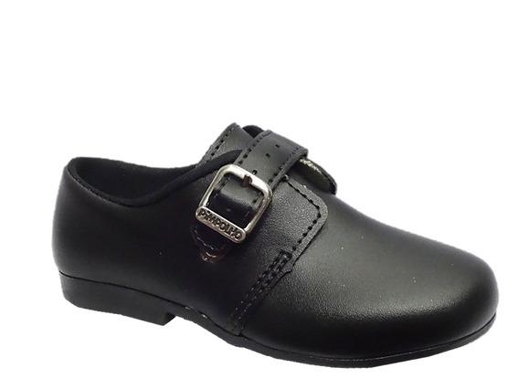Sapato Infantil Menino Social Pimpolho Preto 004803