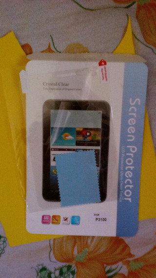 Película De Plástico, Para O Tablet Samsung Tab 2 P3100