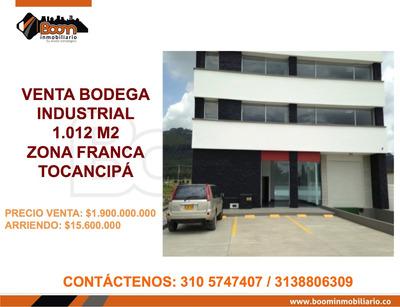 **venta Bodega 1.020 Zf Tocancipa