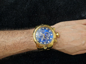 Relógio Banhado A Ouro 18k Masculino Invicta Venom Original