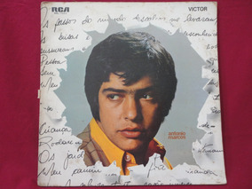 Lp - Antonio Marcos 1970 Menina De Trança