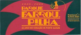 Parque Farroupilha- 60 An0s0 Coração De Poa-plastico P/vidro
