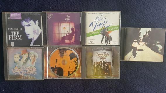 Lote De 7 Cds De Música Peliculas Soundtracks Banda Sonora