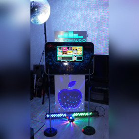 Renta Rockola Karaoke Pantalla Touch Micrófonos Inalámbricos