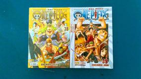 Livro One Piece Volumes 38 E 39 - Eiichiro Oda - Lacrados