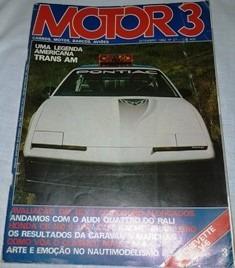 Revista Motor 3,setembro 1982,nº 27, Bom Estado, ,inclui O P