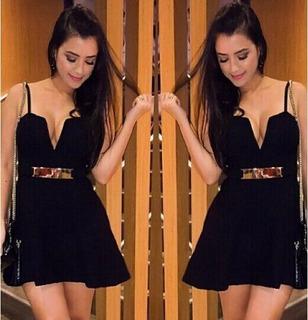 Vestido Sexy Fivela Importado Pronta Entrega No Brasil