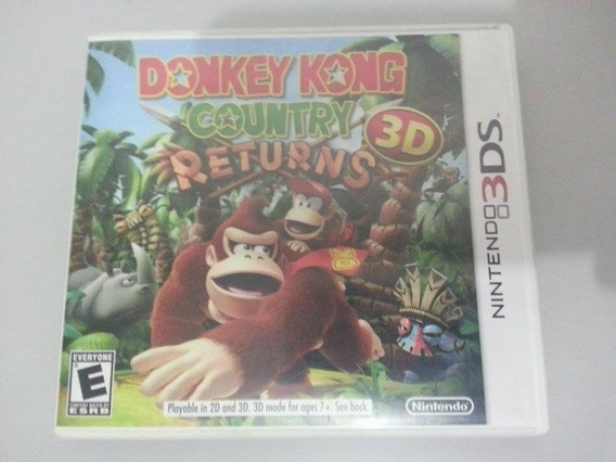 Donkey Kong Country 3d Original E Completo