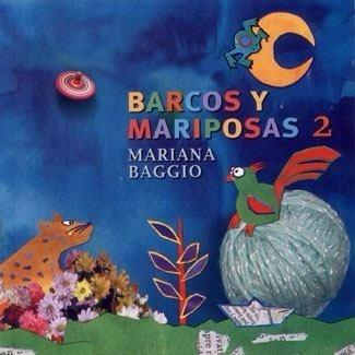 Cd Infantil Barcos Y Mariposas 2 Mariana Baggio