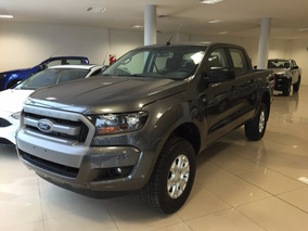 Ford Ranger Xls 4x2 Cabina Doble Manual 0km 2017