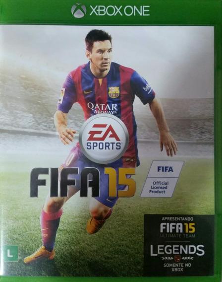 Fifa 15 Xbox One. Mídia Física. Pt Br.