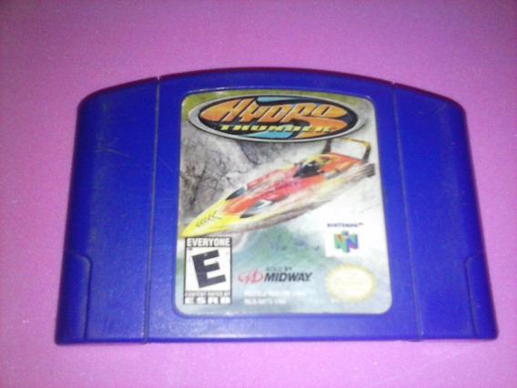 Jogo Hydro Thunder Raro Fita Azul Original Nintendo 64 N64