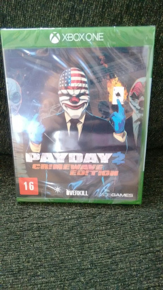 Payday 2 Crime Wave Edition Original Xbox One