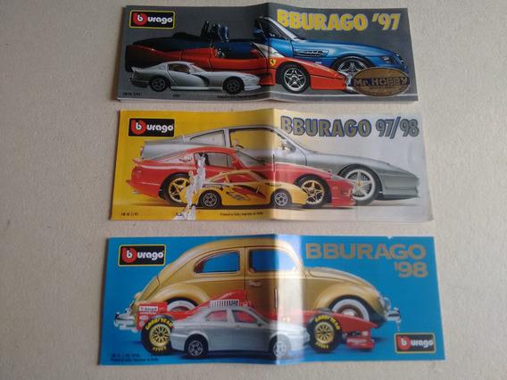 Catalogo Miniatura Burago 97 97/98 98 Original