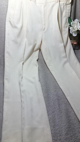 Pantalon De Vestir Pinzado