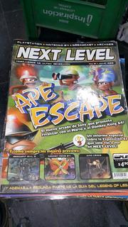 Revista Next Level 6 Julio 1999 Ape Escape Resident Evil 3