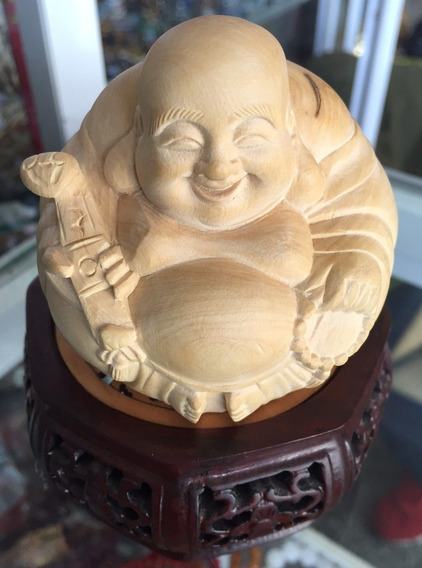 Buda Obra De Arte En Madera