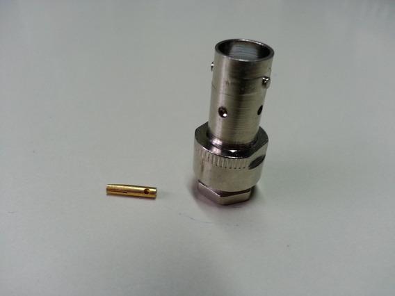 Conector Bnc Femea Reto 04/2.5 (10un)