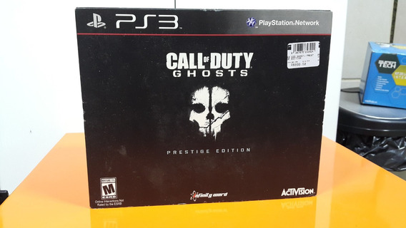 Jogo Call Of Duty Ghosts Prestige Edition Play 3