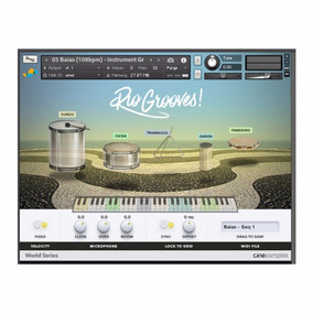 Rio Grooves Para Kontakt - Dvd Ou Download