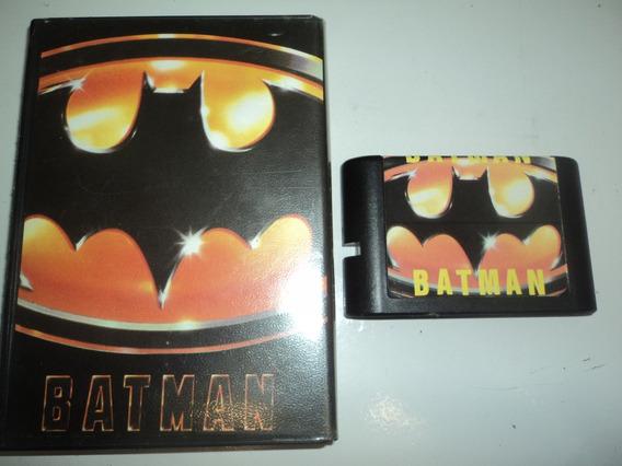 Fita Para Mega Drive Batman Com Caixa Locadora