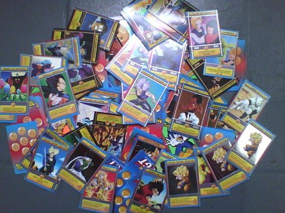 300 Cartas Dragon Ball Z / Gt Cromeros Sin Repetir Al Azar