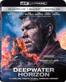 4k Ultra Hd + Blu-ray Deepwater Horizon / Horizonte Profundo