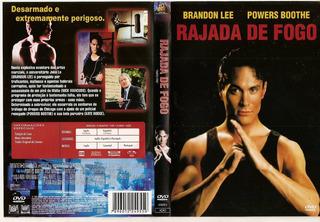 Dvd Filme Rajada De Fogo - Brandon Lee