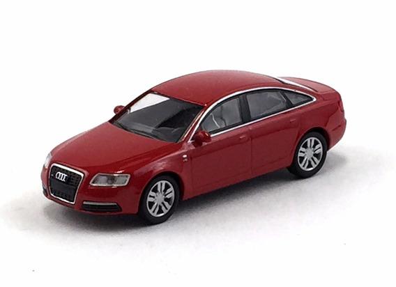 Kyosho Audi S6 Audi Release 23 Vermelho 1/64 Loose