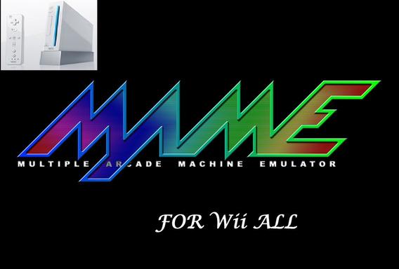 Sdcard P/ Wii Mame C/ 490 Games 100% Atualizado! Emuladores