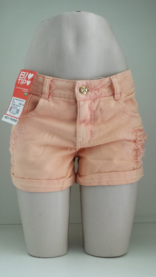 Shorts Jeans Boyfriend Bio Tipo