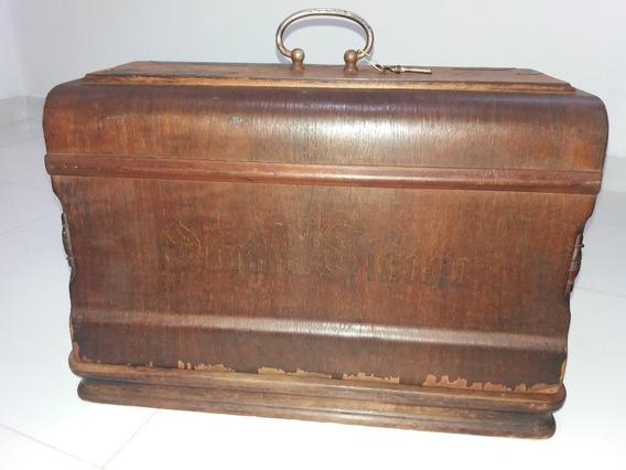 Máquina Antiga Costura Original Victoria - Decoração